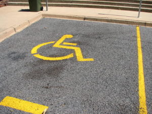 disabled parking pic
