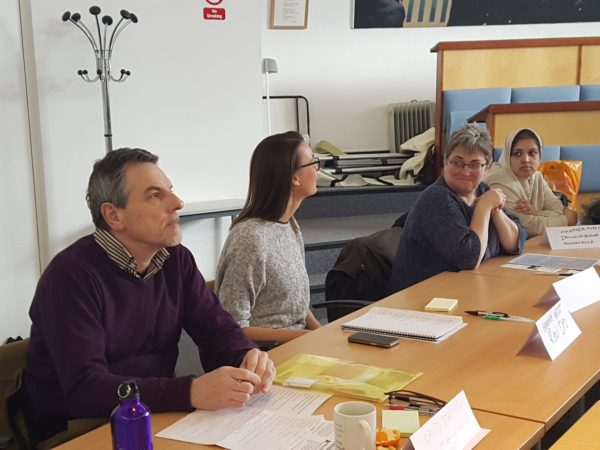 Participants at our February Disability Hate Crime Round Table